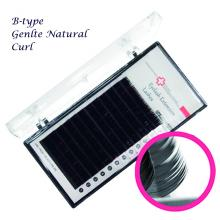 Gentle Natural Curl Strip Lashes (J/B/C/CC Curl)